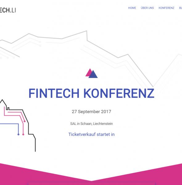 FinTech Conference Liechtenstein 2017