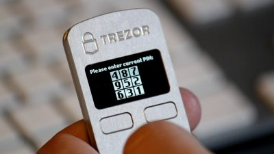 Bitcoin TREZOR Pin