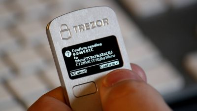 Bitcoin TREZOR Transaction
